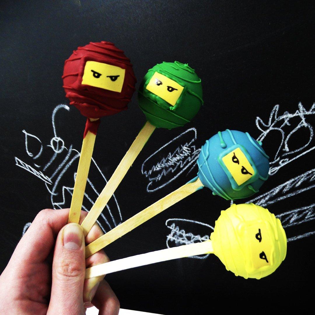 Кейк-попсы Ниндзяго