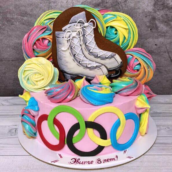 Торт для фигуристки