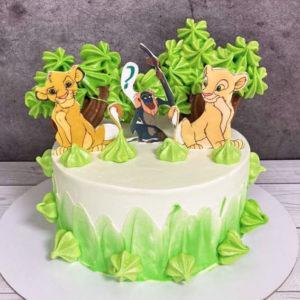 Торт Король лев на определение пола