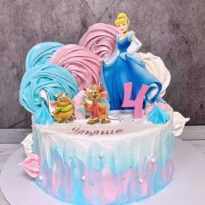 Торт с Золушкой