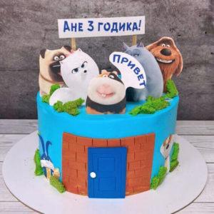 Торт тайна домашних животных