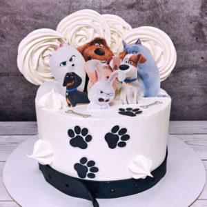 Торт жизнь домашних животных
