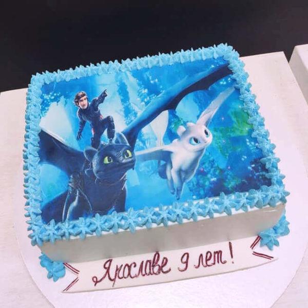 Торт как приручить дракона для девочки
