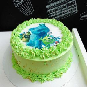Торт монстры с фотопечатью