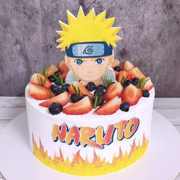 Торт наруто на день рождения