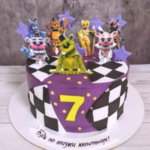 Торт с аниматрониками