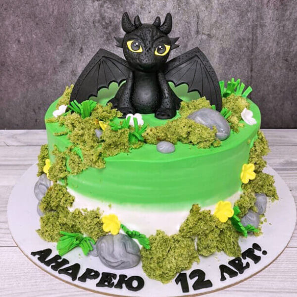 Торт с беззубиком