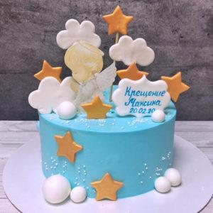 Торт таинство крещения