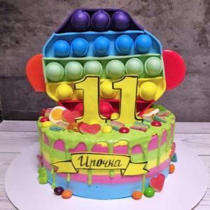 Торт Поп Ит игрушка