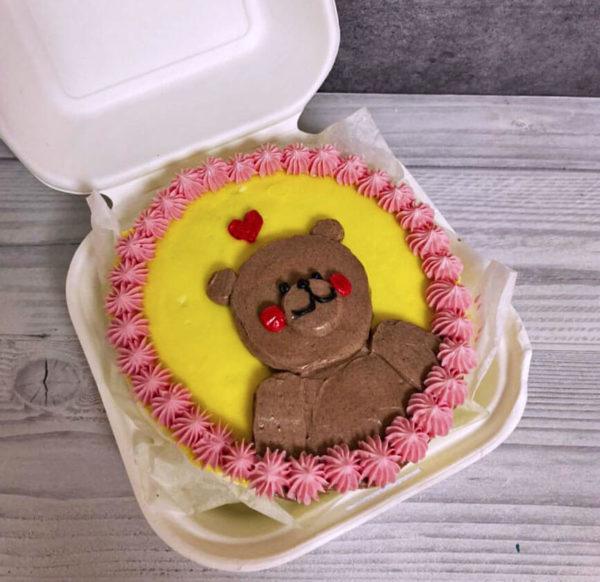 Бенто торт с медведем