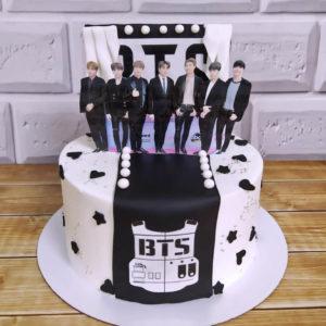 Торт БТС для девочек