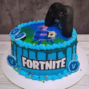 Торт Фортнайт для мальчика