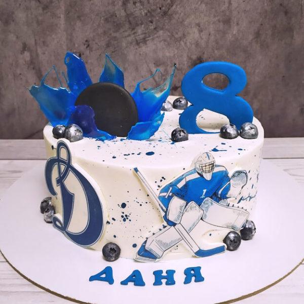 Торт хоккей для мальчика