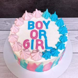 Торт Мальчик или девочка