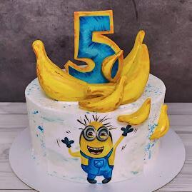 Торт Миньон для мальчика