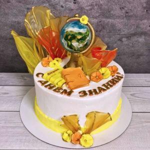 Торт на 1 сентября первокласснику