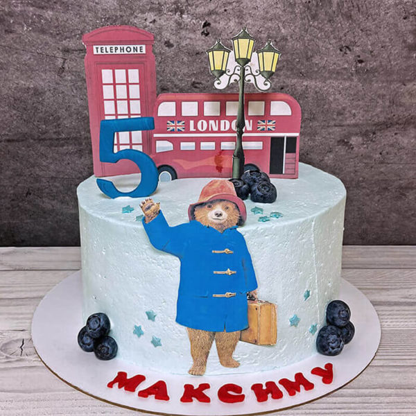 Торт Паддингтон для мальчика