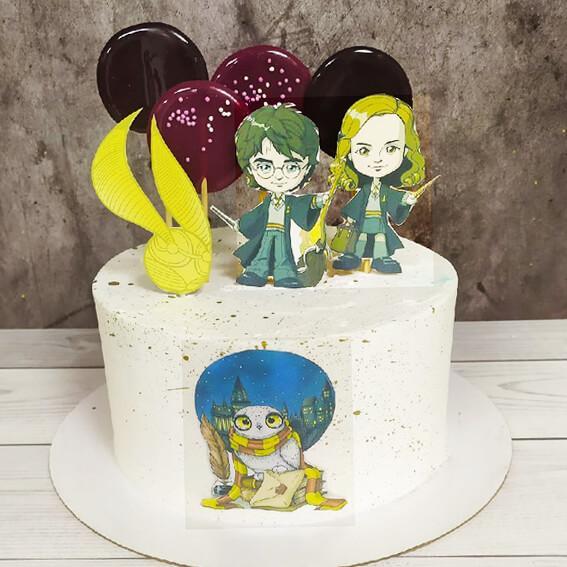 Торт с Гарри Поттером для девочки