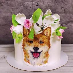 Торт Сиба ину