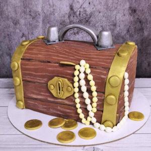 Торт сундук