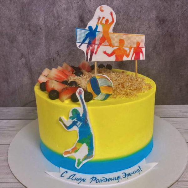 Торт волейбол