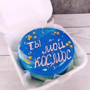Бенто торт космос